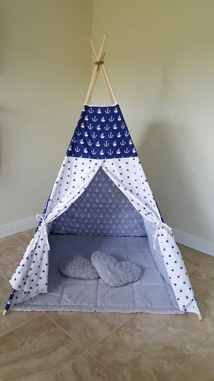 Design Teepee For Kids sailors dream teepee tots for kids