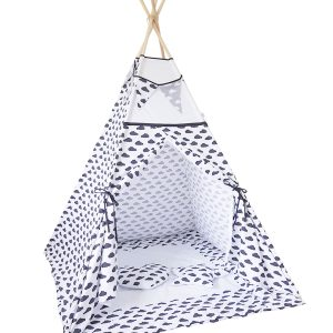 Black-And-White-Clouds-Kids-Teepee-Tent
