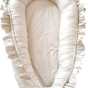 Taupe-nest-bed-with-ruffles
