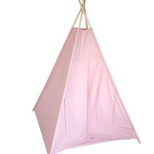 Dusty pink teepee tent set