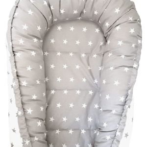 White-and-grey-stars-nest-bed